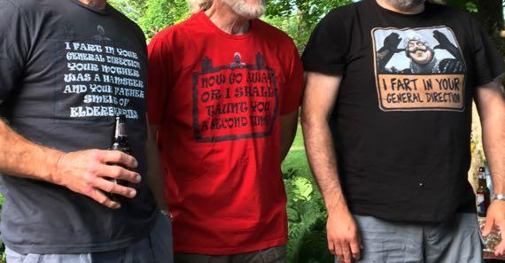 Monty Python on 4th