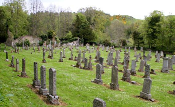 Monybrach Ancrum church ruin