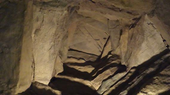 Newgrange faux roof