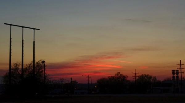 OK sunset