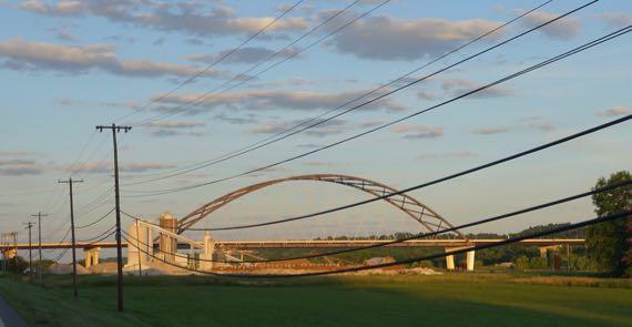 Ohio River bridge US50