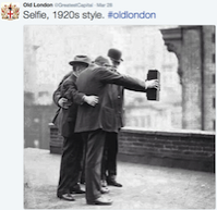 OldLondon original selfie