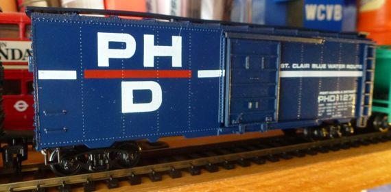 PHD port huron detroit oblique