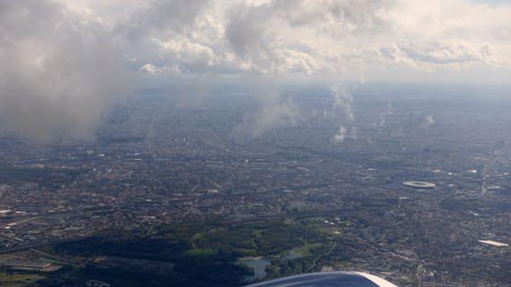 Paris air view