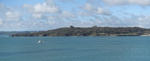 Pendennis from Mawes