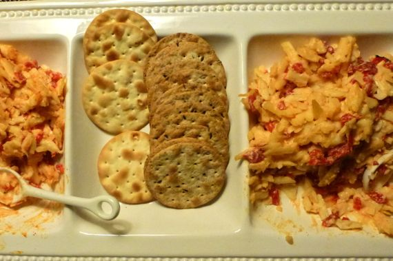 Pimento cheese two versions