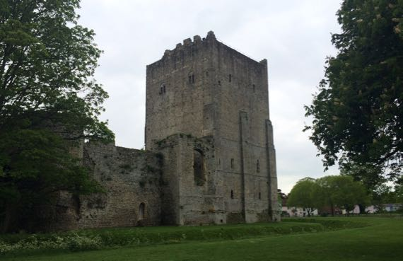 Portchester castle keep