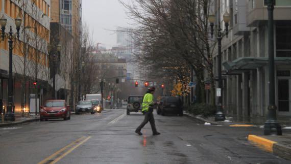 Portland street scene