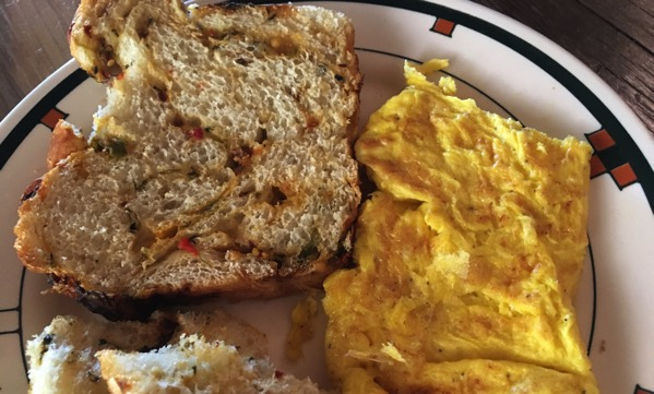 Rancho breakfast omelette