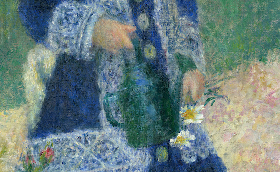 Renoir Girl with Watering Can CU