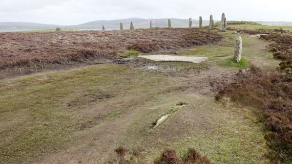 Ring of Brodgar closerup