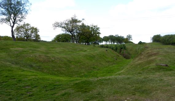 RoughCastle Roman fort