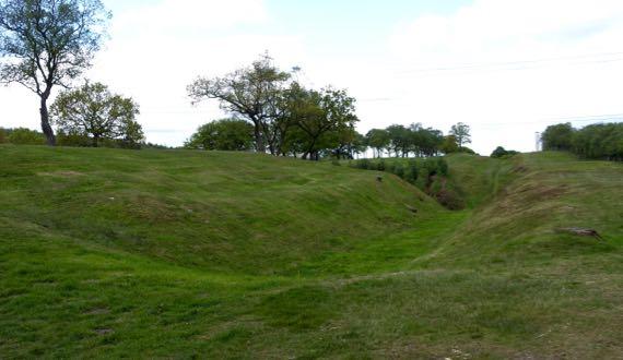 RoughCastle Roman fort