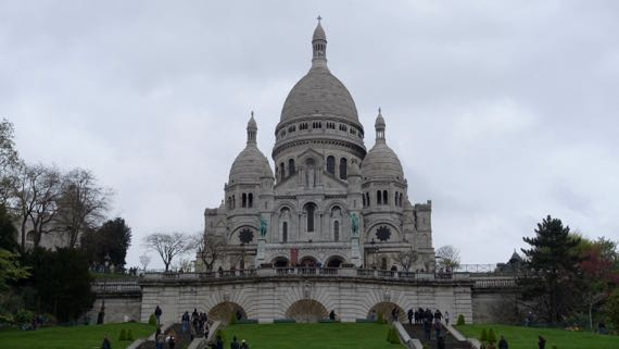 SacreCoeur from below