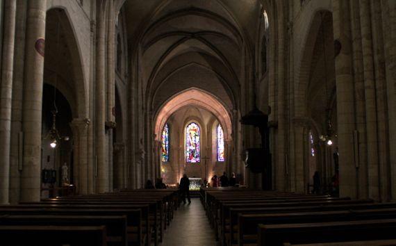 Saint Pierre de Montmartre interior classic shot