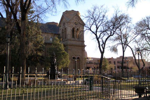 Santa Fe Cathedral Basilica sideshot