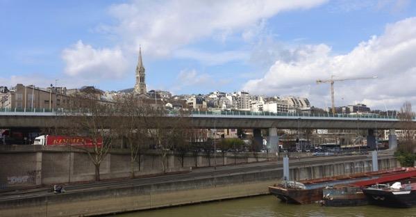 Seine downstream