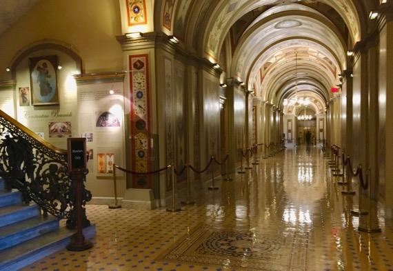 Senate hallways