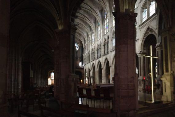 StSeverin behind altar