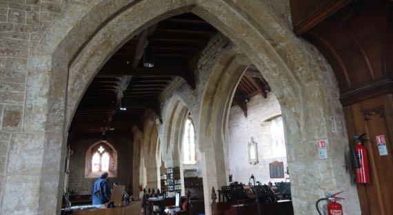 St Andrews Clevedon interior