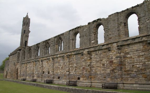 St Andrews cathedral range