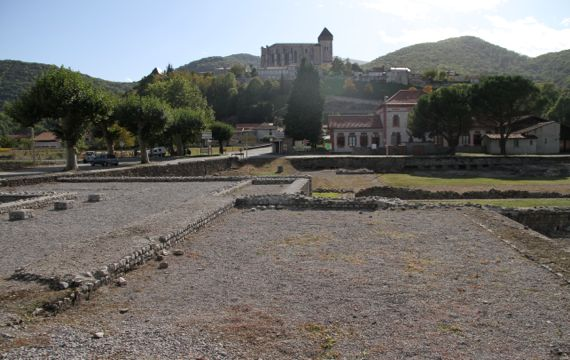 St Bertrand Roman Medieval later