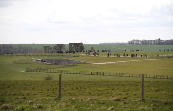 Stonehenge at a distance