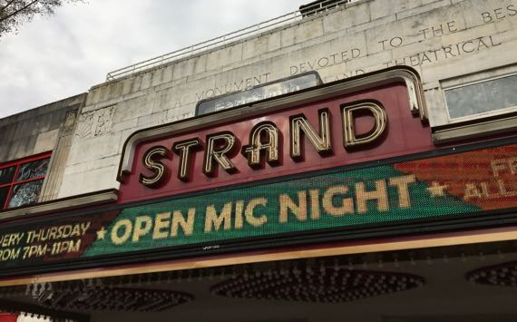 Strand marquee