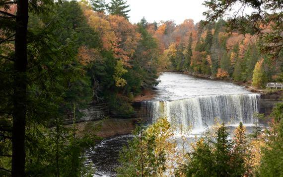 Tahq upper falls