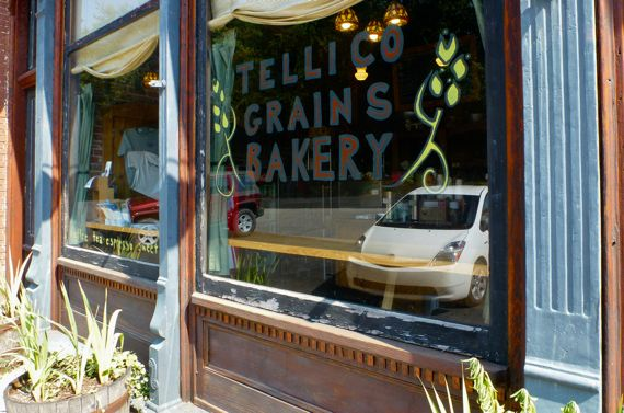 Tellico Grains Bakery with P reflection