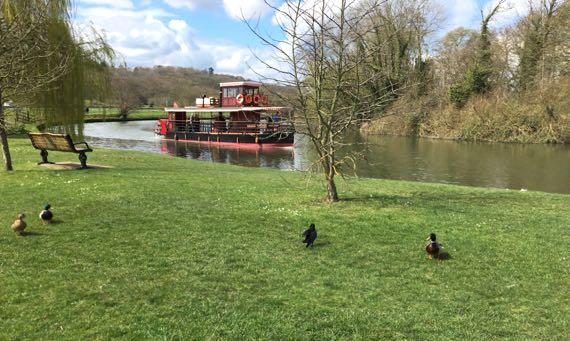 Thames riverboat tour