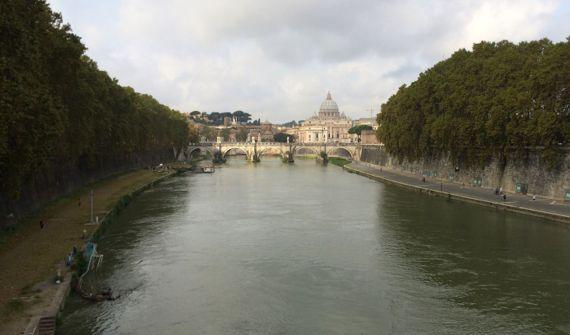 Tiber bridge basilica