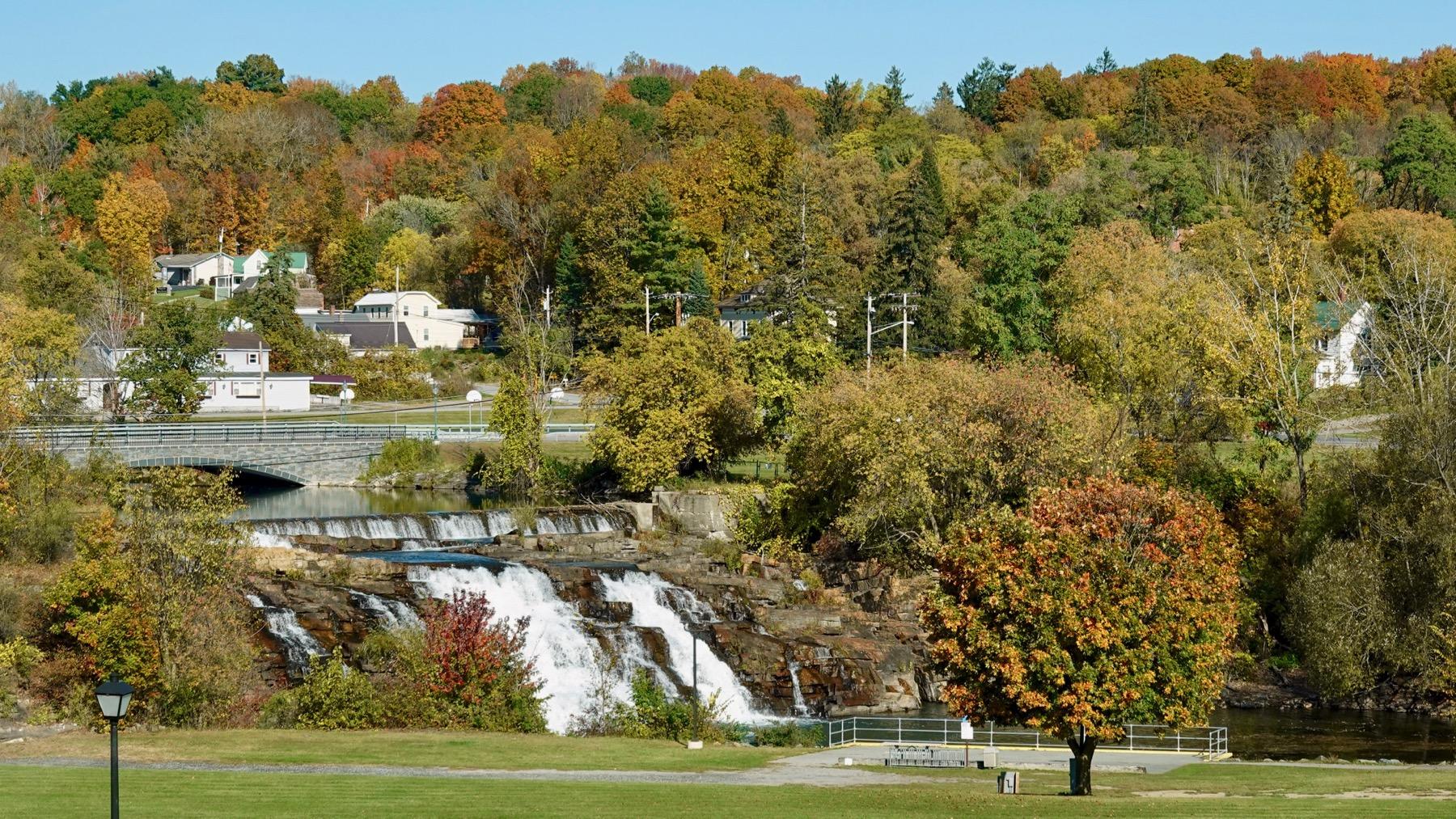 Ticonderoga mill dam