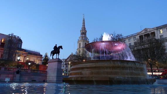 Trafalgar square details