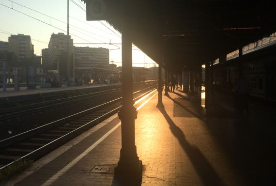 Trastevere station latelight