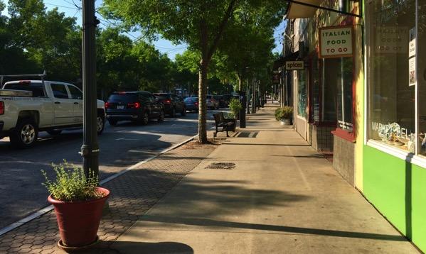 VaHi sidewalk