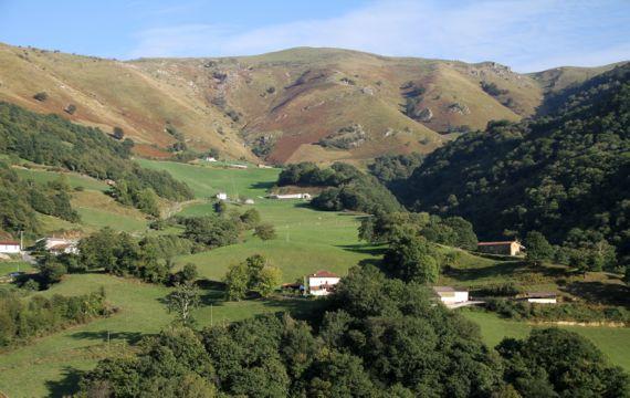 Valcarlos view east hostel