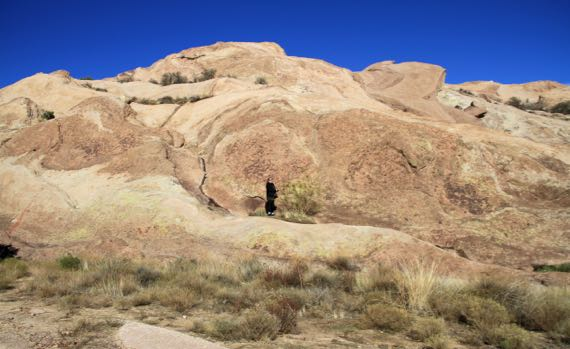 Vazquez Rocks me scale