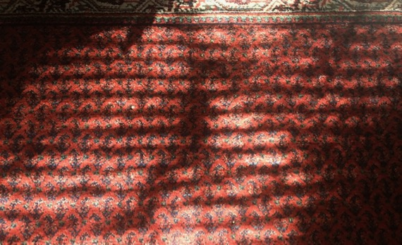 Venetian light carpet