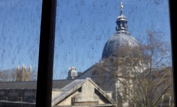 VnA dirty window view
