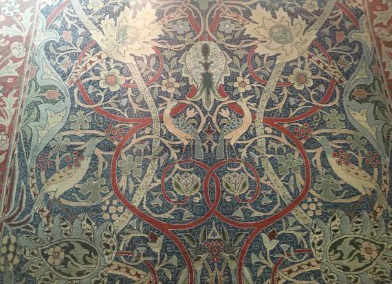 WmMorris 1889 Bullerswood Carpet w JH Dearle