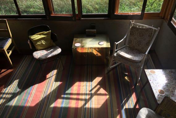 Afternoon porch light