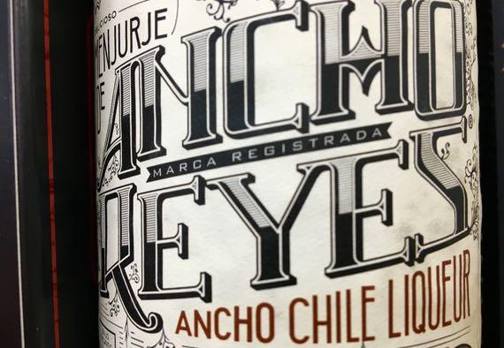 Ancho chile liquour