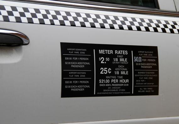 Atl taxi meter rates