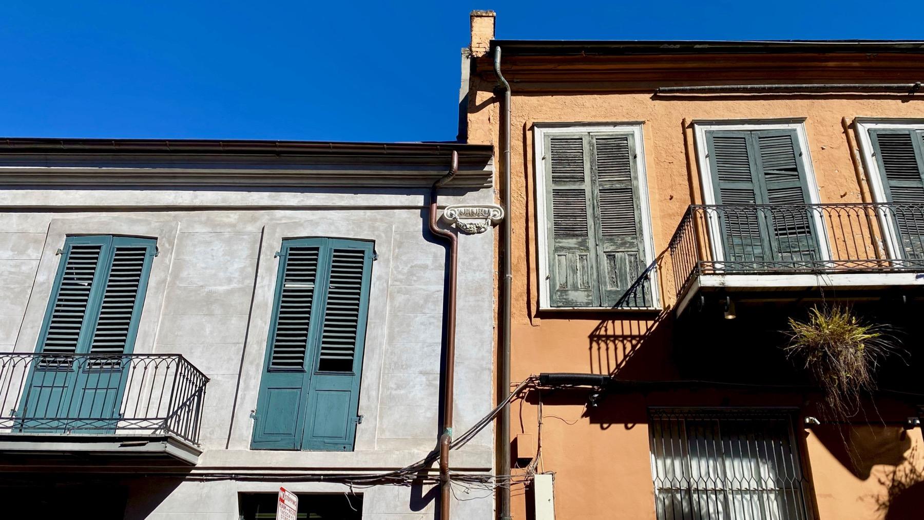 Balconies adjacent
