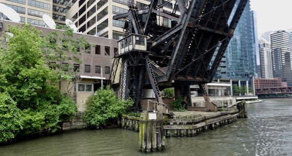 Bascule bridge business end
