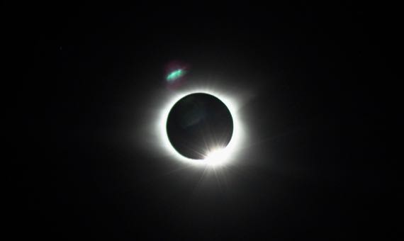 Big sock lens eclipse