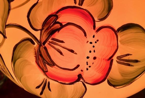 Bloomin lampshade