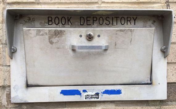 Book depository exterior