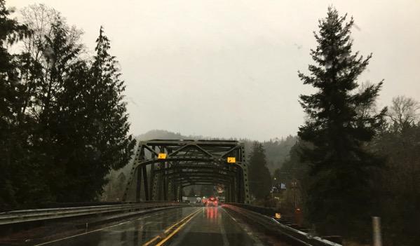 Bridge rain